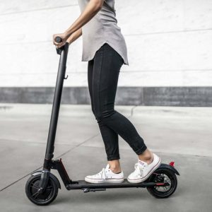 GOTRAX GXL Commuting Electric Scooter running concrete