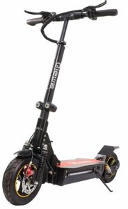 QIEWA Q1Hummer Scooter on stand