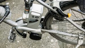 Electric bike motor detail