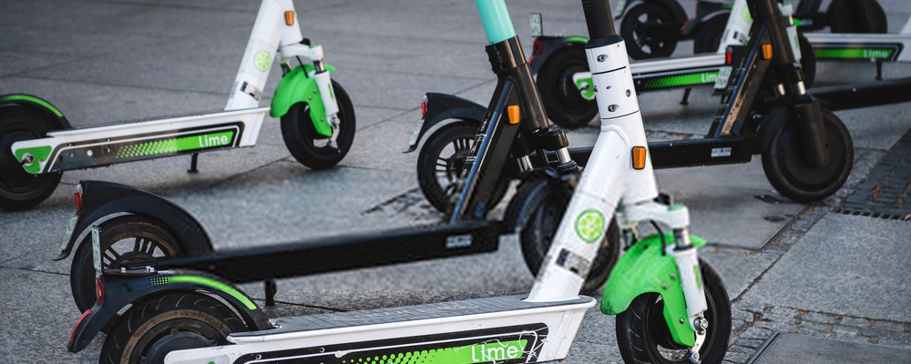 Different electric scooters