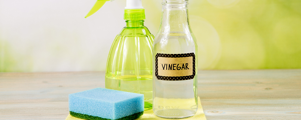 Vinegar for cleaning